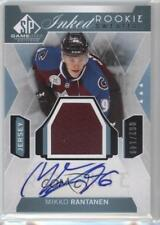 2015 SP Game-Used Inked Rookie Sweaters #IRS-MR Mikko Rantanen Auto Hockey Card