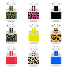 For Apple AirPods Protective Stickers Skin Earphones Adhesive Decal Wrap Cover