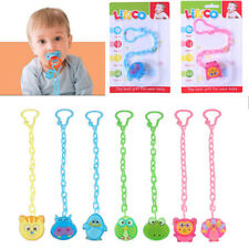 Cartoon Baby Dummy Pacifier Soother Nipple Chain Clip Buckle Holder Toy Holder