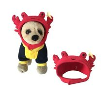 Cute Halloween Funny Pet Crab Hat Headwear Cosplay Party Costume Cap Fancy Dress