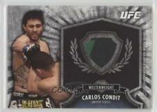 2012 Topps UFC Bloodlines Fighter Relics #FR-CC Carlos Condit MMA Card