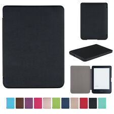Leather Case Shell for Kobo Clara HD 6 inch eReader Auto Wake/Sleep Function New
