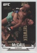 2013 Topps UFC Knockout Gold #61 Ian McCall MMA Card