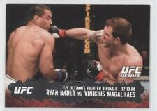2009 Topps UFC Round 2 #119 Ryan Bader vs Vinicius Magalhaes Rookie MMA Card
