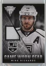 2013 Panini Titanium Game-Worn Gear Patch GG-MRI Mike Richards Los Angeles Kings