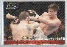 2009 Topps UFC Round 1 Gold #39 Sam Stout vs Spencer Fisher MMA Card