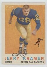 1959 Topps #116 Jerry Kramer Green Bay Packers RC Rookie Football Card