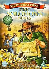Storybook Classics: King Solomon's Mines [DVD] NEW