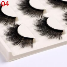 Gam-Belle® 3pairs/set Natural False Eyelashes 3D Mink Fake Lashes Long Extension