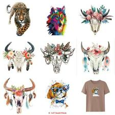 Animals Heat Transfer Sticker T-shirt Press Patches Washable Iron On Appliques