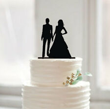 Buythrow® Lesbian Wedding Cake Topper Silhouette Cake Topper Personalized Womens