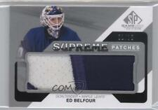 2014-15 SP Game Used Supreme Patches #PA-EB Ed Belfour Toronto Maple Leafs Card