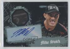 2010 Topps UFC Main Event Autographed Relic #30 Mike Swick Auto MMA Card