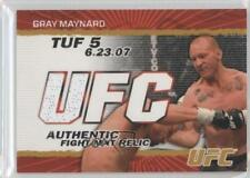 2009 Topps UFC Authentic Fight Mat Relic Gold #FM-KJ Keith Jardine MMA Card