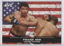 2013 Topps UFC Bloodlines Flag #123 Frank Mir Rookie MMA Card