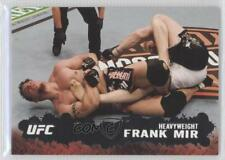 2009 Topps UFC Round 2 Silver #71 Frank Mir Rookie MMA Card
