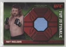 2013 Topps UFC Knockout Fight Mat Relic Green #FMR-RN Roy Nelson MMA Card