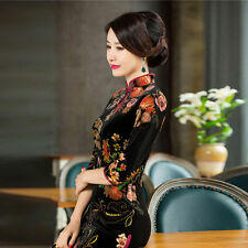 Traditional Charming Chinese Women's Cheongsam Short Evening Gown Qipao Dress