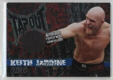 2010 Topps UFC Main Event Tapout Relics Gold #TTR-KJ Keith Jardine MMA Card