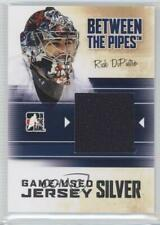 2010 In the Game Between Pipes Game-Used Silver Jersey #M-61 Rick DiPietro Card