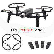 For Parrot Anafi Drone FPV Expansion Landing Gear+Propeller Guard Protective Kit