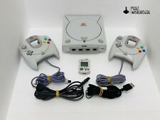 Sega Dreamcast Console Bundle OEM Controller VMU Clean & Tested - FREE SHIPPING