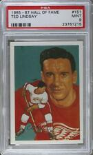 1983 Cartophilium Hockey Hall of Fame #151 RBT (Ted) Lindsay PSA 9 MINT Ted Card