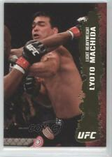 2009 Topps UFC Round 2 Gold #90 Lyoto Machida Rookie MMA Card