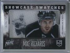 2013 Panini Prime Showcase Swatches #SW-MRI Mike Richards Los Angeles Kings Card