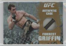 2010 Topps UFC Main Event Cage Relics Bronze #CR-FG Forrest Griffin MMA Card