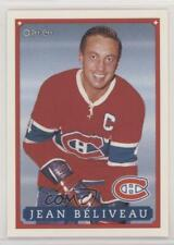 1993 O-Pee-Chee Montreal Canadiens Hockey Fest Promo Red Back #14 Jean Beliveau