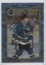 1994-95 Topps Finest #32 Pat Falloon San Jose Sharks Hockey Card