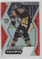 2017-18 Upper Deck Synergy Red Code Unscratched #27 Evgeni Malkin Hockey Card