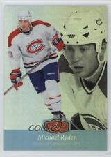 2007 Fleer Ultra Flair Showcase #35 Michael Ryder Montreal Canadiens Hockey Card