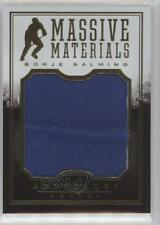 2015 Panini Anthology Massive Materials #MM-9 Borje Salming Toronto Maple Leafs