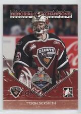 2007-08 In the Game Heroes and Prospects MC-09 Tyson Sexsmith Rookie Hockey Card