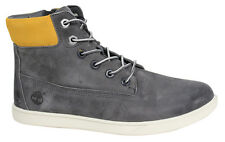 Timberland Groveton Leather Chukka Lace Up Zip Up Juniors Boys Boots A19MX D113