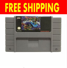 Teenage Mutant Ninja Turtles IV 4 TMNT In Time SNES Super Nintendo USA NTSC PAL