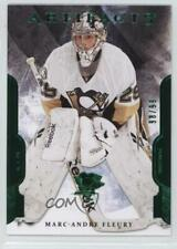 2011 Upper Deck Artifacts Emerald #72 Marc-Andre Fleury Pittsburgh Penguins Card