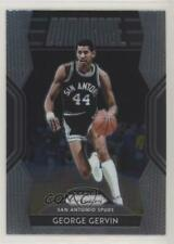 2018 Panini Prizm Dominance #20 George Gervin San Antonio Spurs Basketball Card