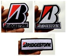 BRIDGE TYRE MOTOR SPORT RACING TEAM CAR LOGO SEW IRON ON EMBROIDERED PATCH