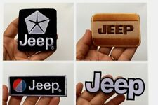 Select JEEP Truck Car  Racing sports Motor Logo Embroidered Patch Iron on sew