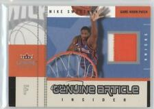2003-04 Fleer Genuine Insider Article Jerseys Patch #GAP-MS Mike Sweetney Card