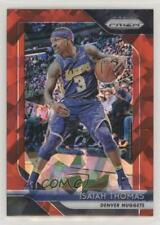 2018-19 Panini Prizm Red Ice #52 Isaiah Thomas Denver Nuggets Basketball Card