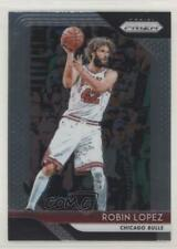 2018-19 Panini Prizm #120 Robin Lopez Chicago Bulls Basketball Card