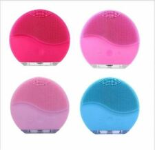 Pink Foreo Luna Mini 2 Face Skin Care Wash Cleansing Brush Device