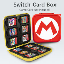 Nintendo Switch Game Card Box Case Holder Storage Travel Carry Protective Covers