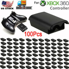 Lots100 AA Battery Back Cover Case Shell Pack For Xbox 360 Wireless Controller
