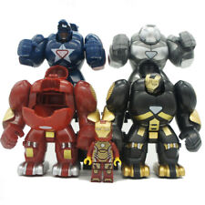 ML-K44 Super Heroes Marvel Avengers Iron Man Hulkbusters Model Figure Blocks