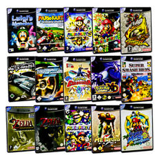 Gamecube Game Mario Sunshine Kart Party Smash Football Zelda Nfs Pokemon
